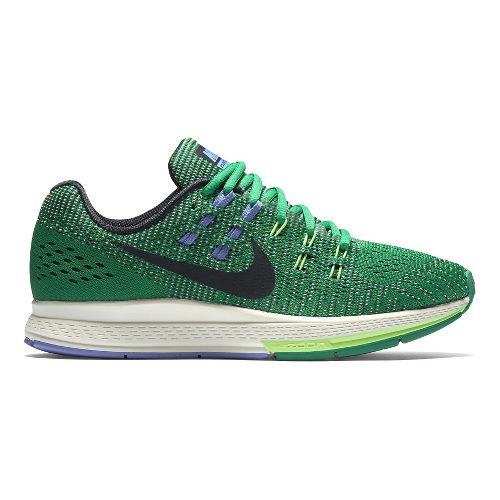 Womens Nike Air Zoom Structure 19 Running Shoe - Green 9