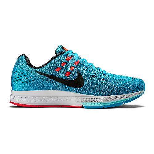Womens Nike Air Zoom Structure 19 Running Shoe - Blue 6