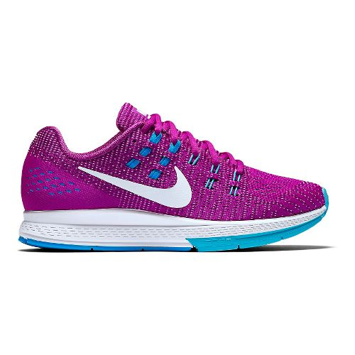 Womens Nike Air Zoom Structure 19 Running Shoe - Hyper Violet 11