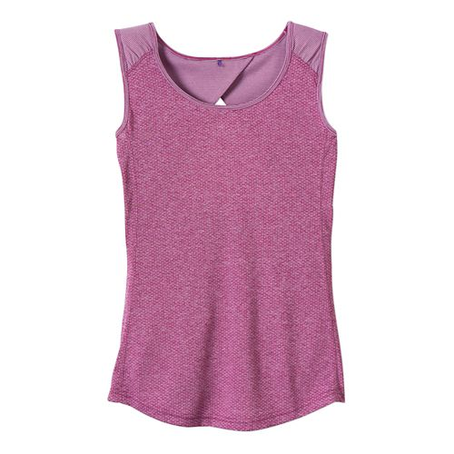 Womens Prana Kamryn Tank Sleeveless Technical Tops - Vivid Viola XS