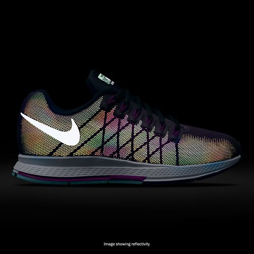 Womens Nike Air Zoom Pegasus 32 Flash Running Shoe - Purple 11