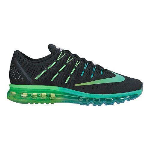 Womens Nike Air Max 2016 Running Shoe - Black/Rio 8
