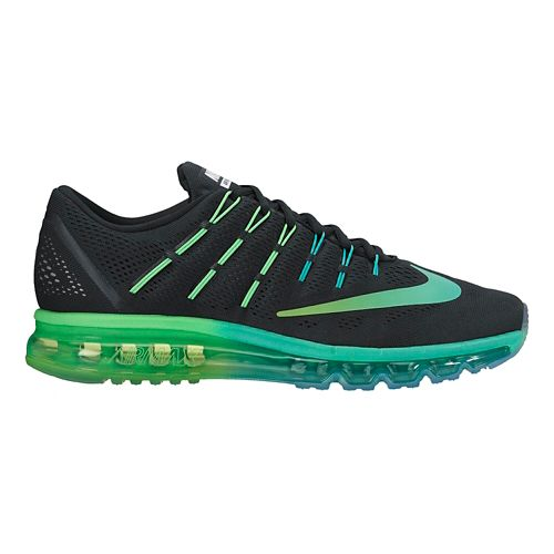 Womens Nike Air Max 2016 Running Shoe - Black/Rio 9