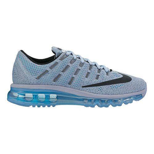 Womens Nike Air Max 2016 Running Shoe - Blue Grey 8