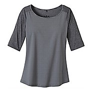 Womens Prana Kaylin Short Sleeve Technical Tops