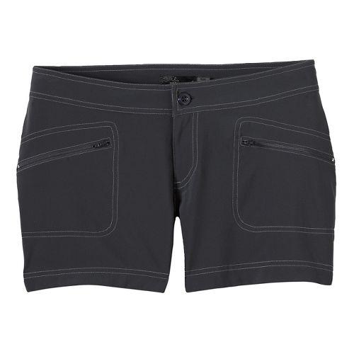 Womens Prana Lena Unlined Shorts - Coal OS