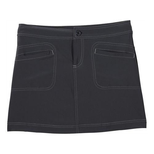 Womens Prana Lena Skort Fitness Skirts - Coal 6