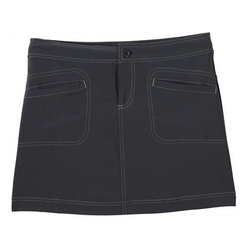 Womens Prana Lena Skort Fitness Skirts - Coal OS