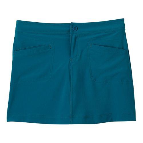 Womens Prana Lena Skort Fitness Skirts - Mosaic Blue 12