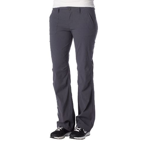 Womens Prana Amira Full Length Pants - Coal 12