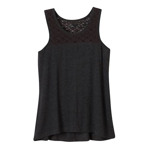 Womens Prana Cassi Sleeveless & Tank Non-Technical Tops - Black L