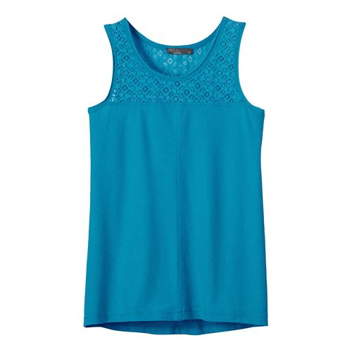 Womens Prana Cassi Sleeveless & Tank Non-Technical Tops - Cove S