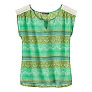 Womens Prana Illiana Short Sleeve Non-Technical Tops