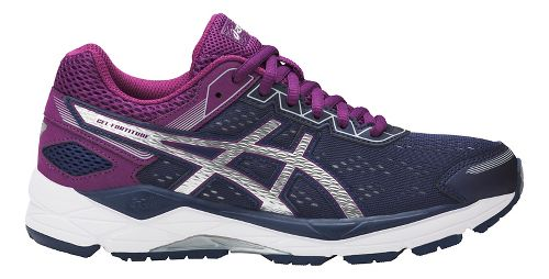 Womens ASICS GEL-Fortitude 7 Running Shoe - Indigo/Silver/Prune 10