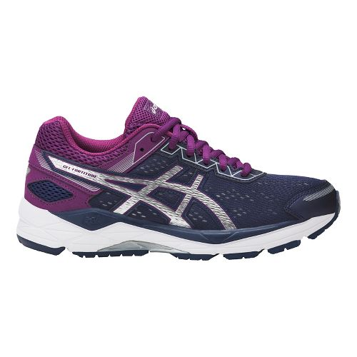 Womens ASICS GEL-Fortitude 7 Running Shoe - Indigo/Silver/Prune 6.5