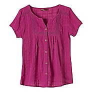 Womens Prana Lucy Short Sleeve Non-Technical Tops