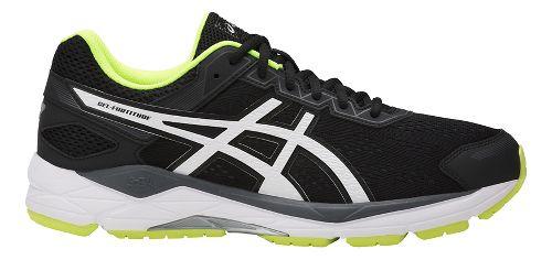 Mens ASICS GEL-Fortitude 7 Running Shoe - Black/White 14