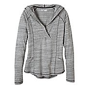 Womens Prana Demi Long Sleeve Hooded Non-Technical Tops