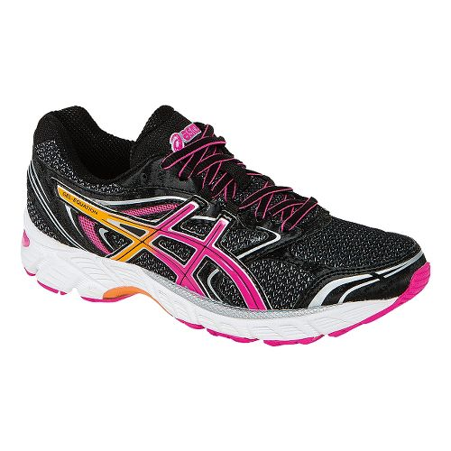 Womens ASICS GEL-Equation 8 Running Shoe - Black/Pink 7