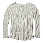 Womens Prana Parker Sweater Long Sleeve Sweater Non-Technical Tops