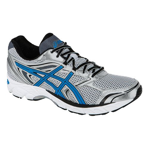 Mens ASICS GEL-Equation 8 Running Shoe - Silver/Blue 8