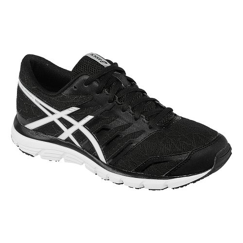 Womens ASICS GEL-Zaraca 4 Running Shoe - Black/White 11.5