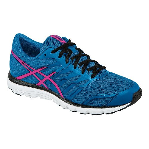 Womens ASICS GEL-Zaraca 4 Running Shoe - Blue/Pink 11.5