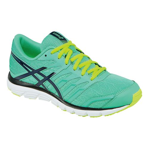 Womens ASICS GEL-Zaraca 4 Running Shoe - Mint/Onyx 9