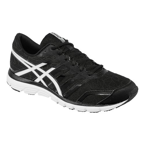 Mens ASICS GEL-Zaraca 4 Running Shoe - Black/White 12.5