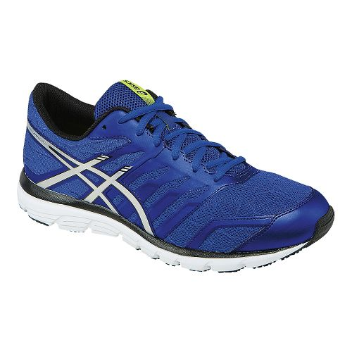 Mens ASICS GEL-Zaraca 4 Running Shoe - Blue/Silver 9.5