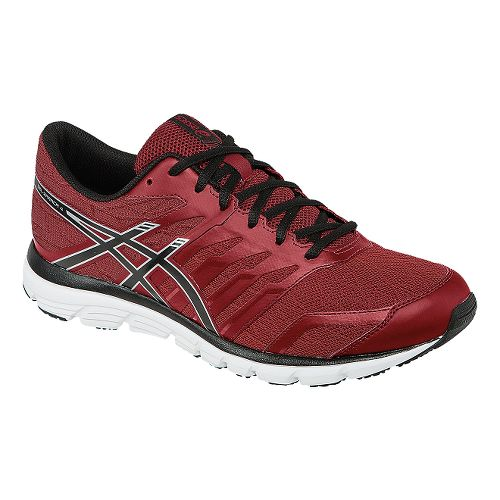 Mens ASICS GEL-Zaraca 4 Running Shoe - Red/Black 6.5