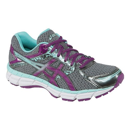 Womens ASICS GEL-Excite 3 Running Shoe - Charcoal/Purple 10.5