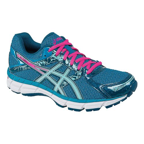 Womens ASICS GEL-Excite 3 Running Shoe - Turquoise/Pink 10.5