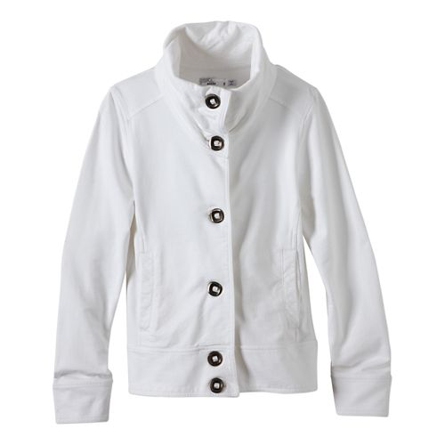 Womens Prana Candice Jackets - White XL