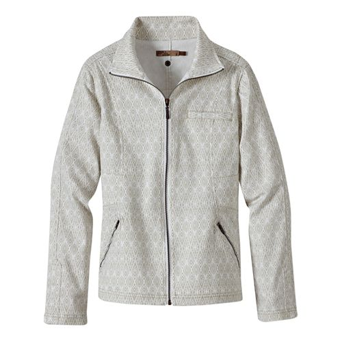 Womens Prana Kiana Lightweight Jackets - Stone Diamond XS