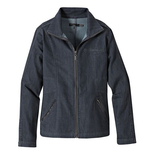 Womens Prana Kiana Lightweight Jackets - Denim XS