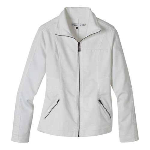 Womens Prana Kiana Lightweight Jackets - White XL