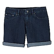 Womens Prana Kara Denim Unlined Shorts