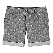 Womens Prana Kara Denim Unlined Shorts