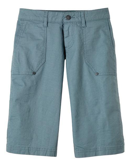 Womens Prana Larissa Knicker Unlined Shorts - Smoky Blue OS