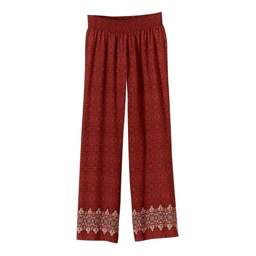 Womens Prana Isadora Full Length Pants - Tomato S