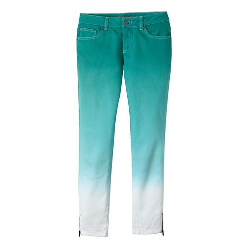 Womens Prana Jett Capri Pants - Dynasty Green 6