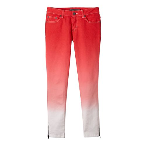 Womens Prana Jett Capri Pants - Cherry Pop 8