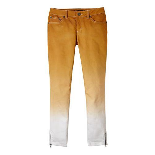 Womens Prana Jett Capri Pants - Dynasty Green 10