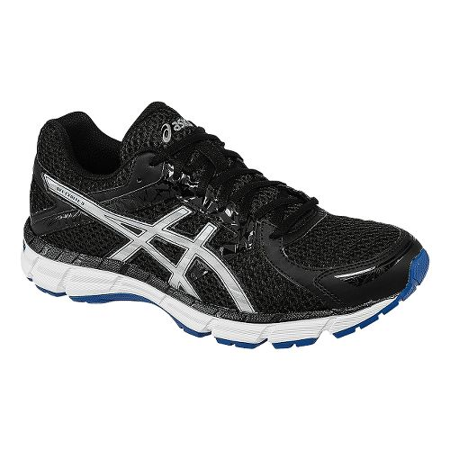 Mens ASICS GEL-Excite 3 Running Shoe - Black/Silver 11.5
