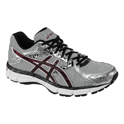 Mens ASICS GEL-Excite 3 Running Shoe - Silver/Black 9.5