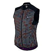 Womens Nike Aeroloft Flash Running Vest - Black/Print S