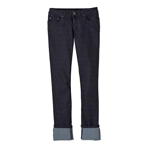 Womens Prana Kara Jean Full Length Pants - Charcoal Diamond 10