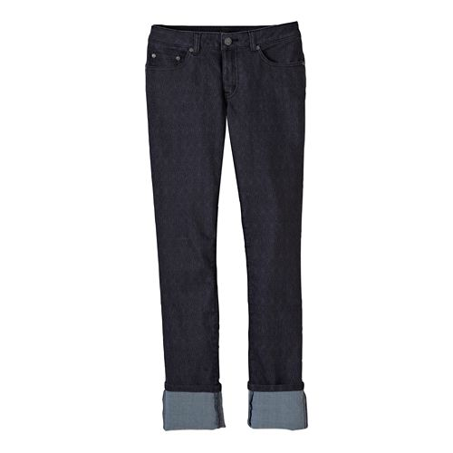 Womens Prana Kara Jean Full Length Pants - Charcoal Diamond 6