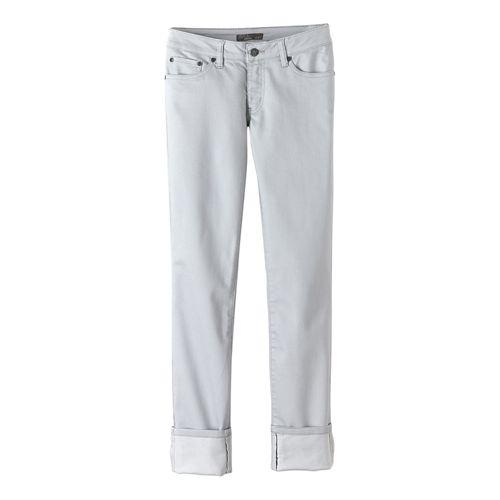 Womens prAna Kara Jean Pants - Silver 2